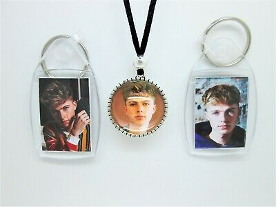 HRVY HARVEY LEIGH CANTWELL  LOGO CABOCHON PENDANT  SURFER STYLE CORD /& KEYRING