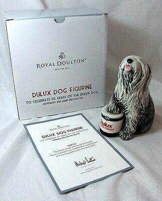 Royal Doulton Dulux Dog Figurine with COA - Boxed and MINT - Handmade - 2011 edt