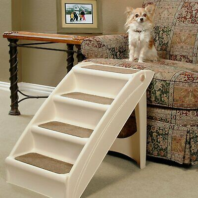 Solvit Pet Safe PupSTEP Plus Pet Stairs, Foldable Steps for Dogs and Cats, Best