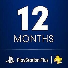 Playstation Plus 12 Months / 1 YEAR (NO CODE) READ DESCRIPTON PS4-PS3-VITA 26x14