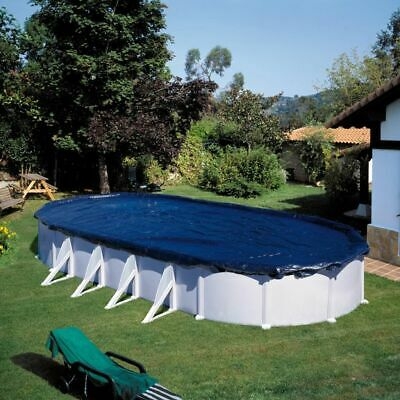 Gre Pool Winter Cover Oval 800x470/710x475cm Protector Sheet ClothCIPROV82