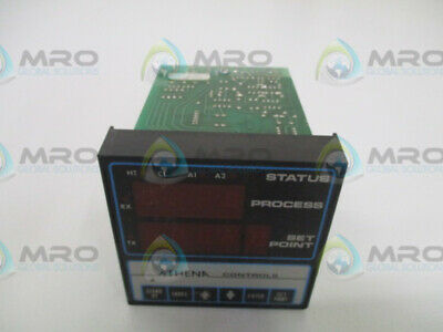 Athena Controls 6075-Tt-E2 Temperature Controller (As Pictured) * Used *