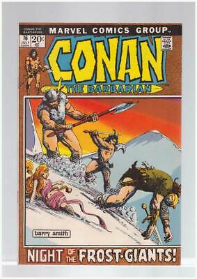 Conan the Barbarian # 16  Night of the Frost Giants !  grade 9.0 scarce book !