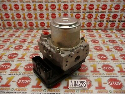 06 07 honda accord 4dr 3 0l a/t anti lock brake abs pump 57110sdba32 oem