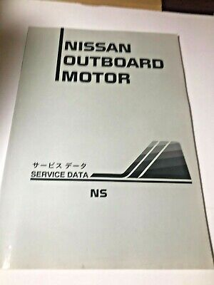 Nissan Outboard Motor Service Data NS 1997