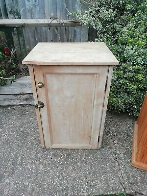 Victorian cupboard - 2 shelves - solid pitch pine