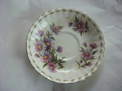 Royal Albert  Flower of the month MICHAELMAS DAISY Saucer only