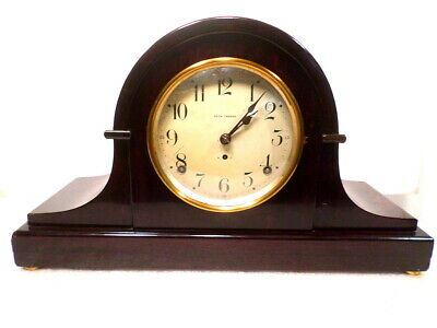 1900 Seth Thomas Mantle Clock With Hour & Half Hour Strike