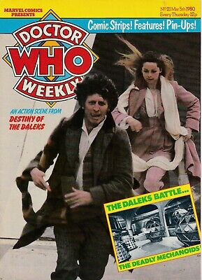 DOCTOR WHO MAGAZINE (Doctor Who Weekly) #21 - Back Issue