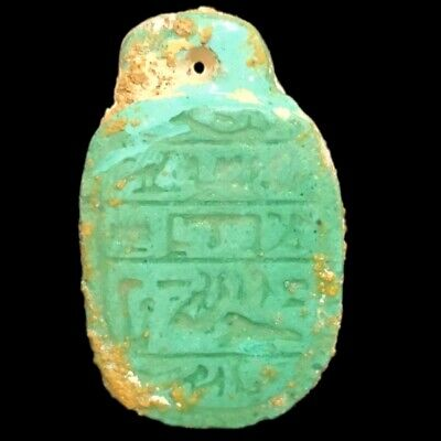 Beautiful Ancient Egyptian Amulet 300 Bc (17)