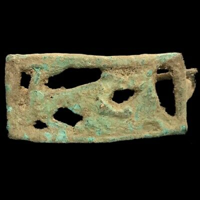 Roman Ancient Bronze Fibula Brooch- 200-400 Ad (1)