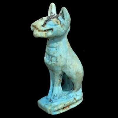 Beautiful Ancient Egyptian Cat Amulet 300 Bc (20)