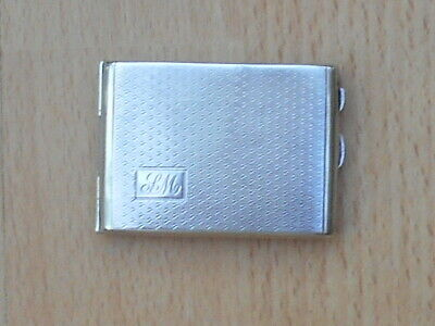 Solid Silver Chester Book Match Case 1929