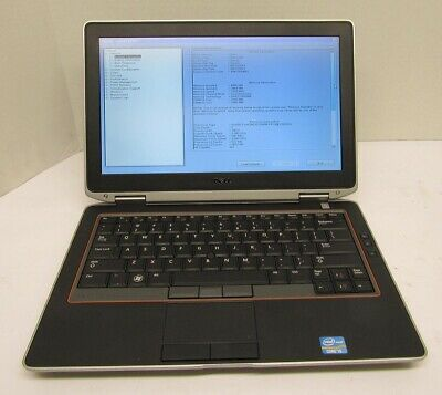 "Dell Latitude E6320 13.3"" Laptop Core I5 2540M 2.60GHz 4GB RAM NO HDD"