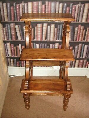 Wooden Library Steps/Wooden Step Ladder/Library Ladder