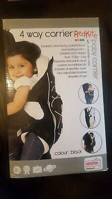 427e0f03f66 Redkite 4 Way Baby Carrier In Box (3.5kg-12kg 0+ Black)