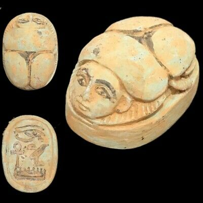 Beautiful Ancient Egyptian Scarab 300 Bc (5)