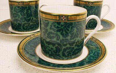 Royal Worcester DAMASK coffee cup & saucer up to 9 available