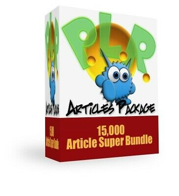 Monster PLR Articles Package eBook PDF with Full Master Resell Rights