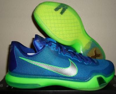 fbef3a6dde99 New Nike Air Kobe Bryant X 10 A.d. Emerald City Blue Green Basketball Shoes  11