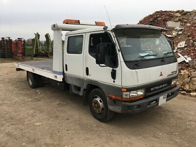 MITSUBISHI CANTER 2 8 Recovery Truck 3 5T Running With Mot ideal