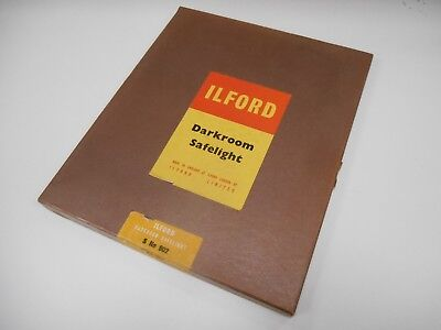 Ilford Safelight S902 Dark Room Safe Light Glass Bromide Paper Plastika