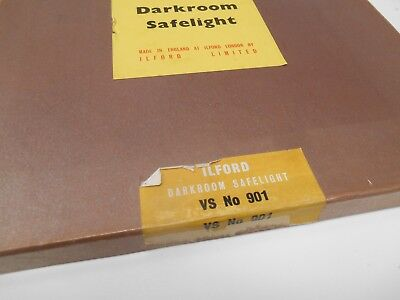 Safelight VS 901  Ilford Dark Room Safe Light Glass Lantern Contact Paper