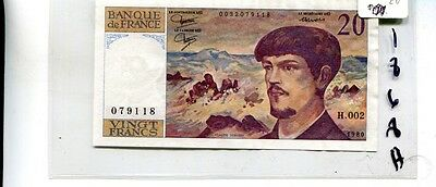 FRANCE 1992 500 FRANCS CURRENCY NOTE CHOICE CU 2036C