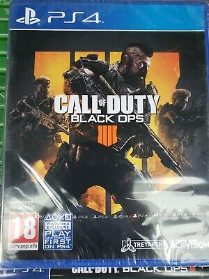 PlayStation 4 Call Of Duty (Black Ops 4) BRAND NEW