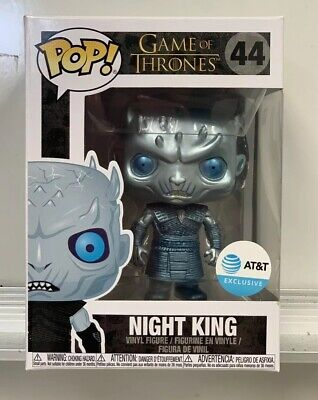 METALLIC NIGHT KING - Funko Pop Game Of Thrones AT&T Exclusive IN HAND