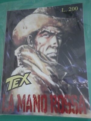 Tex N 1 La Red Hand Variant Cover / Mm