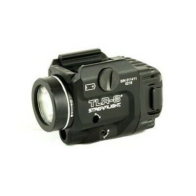 Streamlight 69410 TLR-8 Tactical Weapon Light/Laser 500 Lumens w/Strobe Function