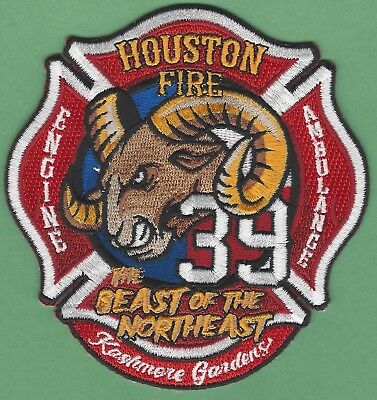 """Irving  Station-4  /""""Fightin Fours/"""" 4/"""" x 4/"""" size Texas fire patch"""