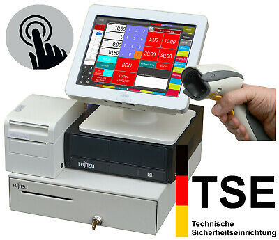 Professional Touchscreen Cash Register System for Retail Gastronomy Preh Ka12