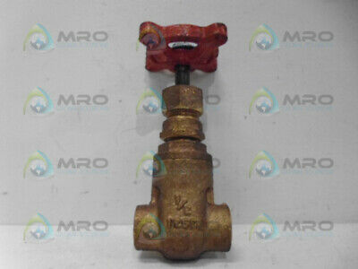 "Stockham B-104 Gate Valve 1/2"" *New No Box*"