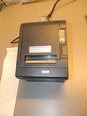 Epson M129C TM-T88III Serial POS Thermal Receipt Printer, W Cutter, Power Supply