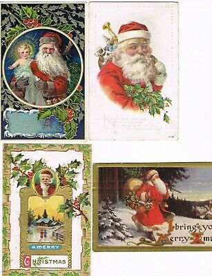 Lot of 48 ANTIQUE EARLY 1900s HOLIDAY Postcards      * CHRISTMAS *