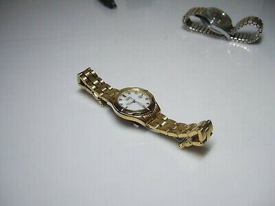 Citizen Eco Drive Diamond Gold Pearl Face Women's Watch