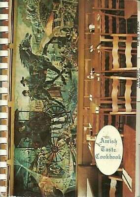 Amish Cookbook - Danville, Ohio - Amish Taste - Alma Hershberger - 1977
