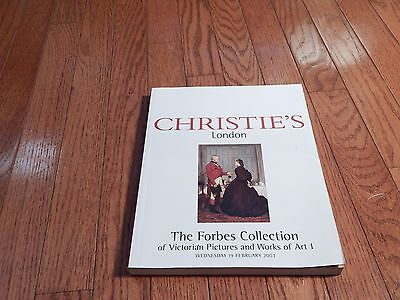 Christie's London Forbes Collection Victorian Pictures Fine Art Paintings Book I