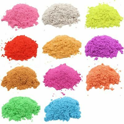 DIY Magic Sand Colored Soft Clay Antistress Kids Play Educational Toys 100g Bag