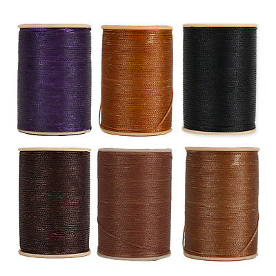 100m*0.8mm 150D Leather Craft Sewing Hand Waxed Wax String Thread Repair Cord
