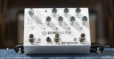 NEW Empress Echosystem Dual Engine Ambient Digital Analogue Tape Delay Effect...