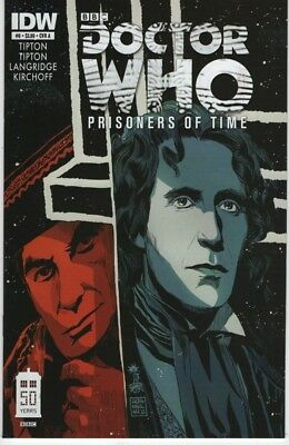 IDW Doctor Who Prisoners of Time #12 Larrys Comics Exclusive and RI Covers