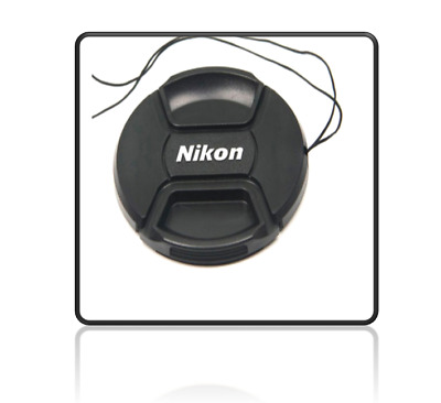 Nikon 52mm Snap-On Lens Cap + Rope / Front Lens Cap Brand New Ready to Ship