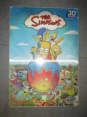 The Simpsons 3D Poster Special Edition - Sealed
