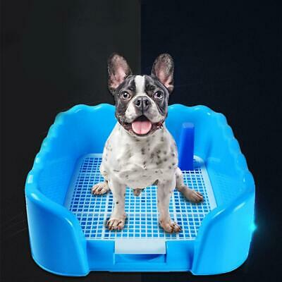 Puppy Portable Training Pad Pet Loo Potty Pee Trainer Dog Tray Toilet BMCM