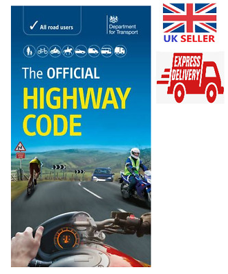 The Official Highway Code 2019 DVSA Paperback Latest Edition Theory Test Book