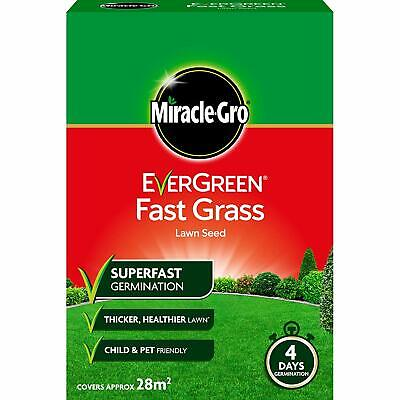 Miracle-Gro EverGreen Fast Grass Lawn Seed 840g