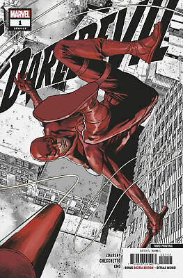 DAREDEVIL #1 (2019) - 3RD PRINTING CHECCHETTO VARIANT Cover - New Bagged